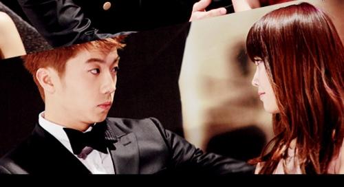 iu wooyoungIu And Wooyoung 2012